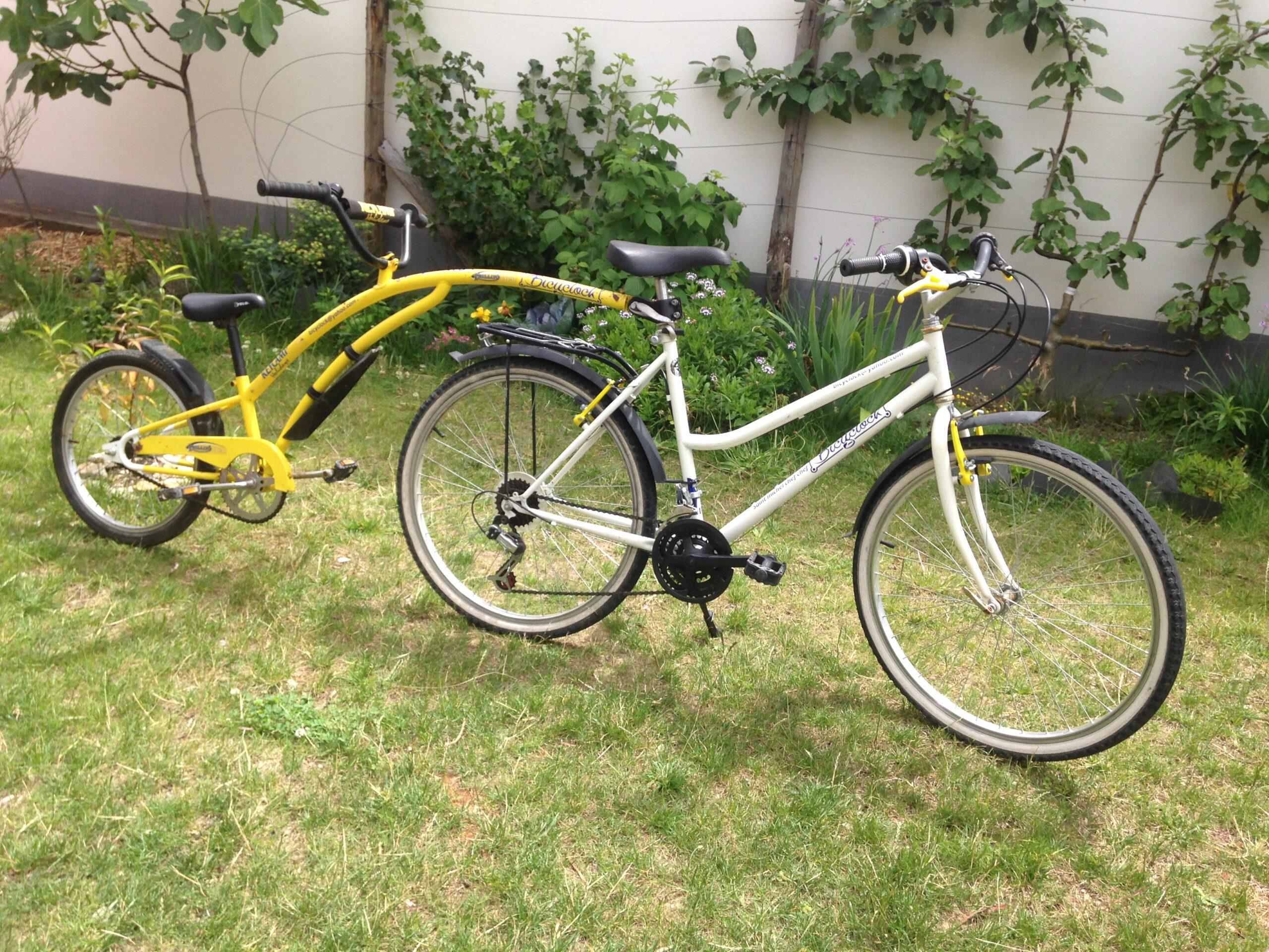suiveur ou troisieme roue location de velos bicyclock
